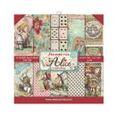Stamperia - Double-Sided 8 x 8 Inch Paper Pack - Alice